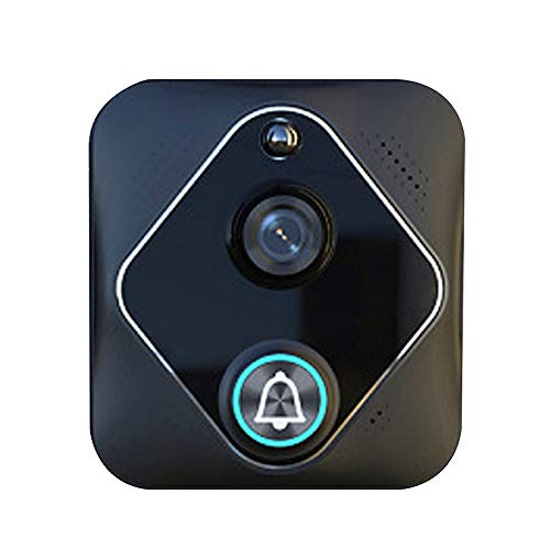 Smart WiFi Wireless 2.4G Video doorbell Remote Home Monitoring 1080p HD Security Camera Real-time Two-Way Call and Video PIR Motion Detection iOS -