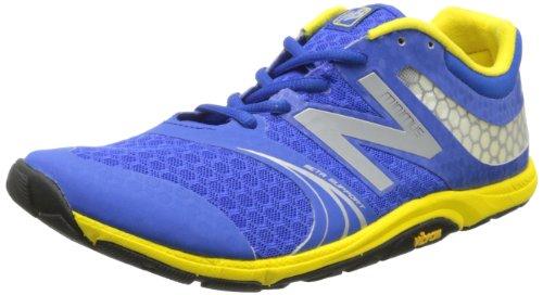 New Balance Men's MX20 Minimus Cross-Training Shoe,Blue/Yellow,8.5 2E US