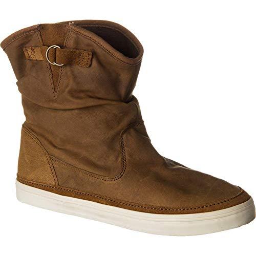 a25a97869b Vans Womens Prairie Boot Fashion Shoes Nubuck Brown 5 B(M) US Women Nubuck  Brown