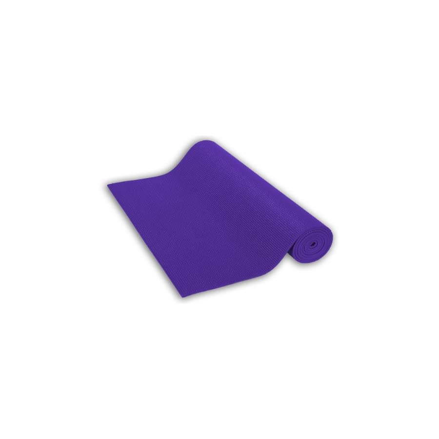 Sivan Health and Fitness Yoga and Pilates Mat (Purple)
