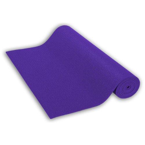 Sivan Health and Fitness Yoga and Pilates Mat (Purple)
