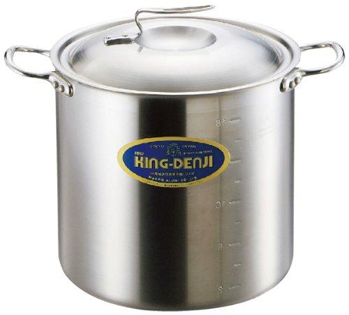 ニューキングデンジ 寸胴鍋(目盛付)21cm   B00BQWI512