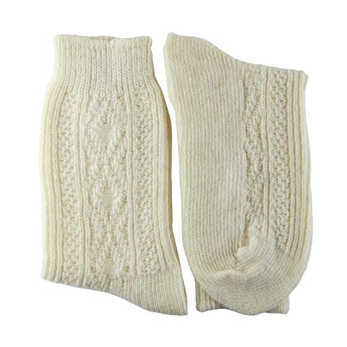 YUN Women's Natural Pure 100% Wool Traditional Warm Boot Winter Socks (3)