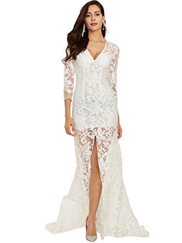 CLOCOLOR Evening Dress Wedding Dress Party Gown Bridesmaid - Dresses Lf Online