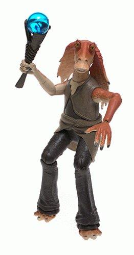 figurine star wars jar jar binks