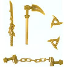 LEGO Ninjago Gold Weapons Set (for LEGO Minifigures)