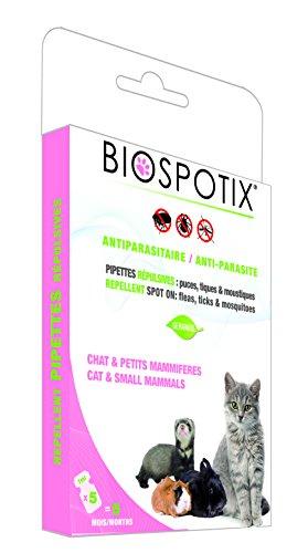 Ungezieferschutz Pipetten Spot-On Biospotix Katze 5ml von Biogance