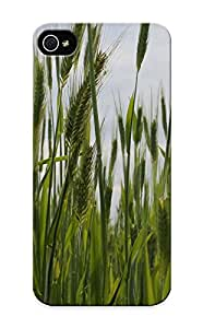 Elizabethshelly High Quality Shock Absorbing Case For Iphone 5/5s-grass Spikes