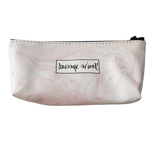 (OUBAO Pen Case, Pencil Bag Makeup Pouch Durable Students Stationery Pencil Marker Stationery Organizer Pencil Pouch Pencil Bag Big Capacity Stationery Gift Cute Pencil Box Case School Supplies)
