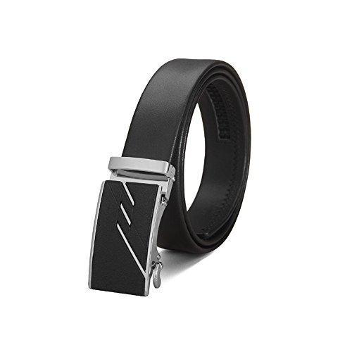 1/2' Belt Pants Wide 1 (Dall Belts Leather Belt Mens Belt Waistband Automatic Ratchet Buckle Belts Wide Fully Adjustable 1.5'' (35mm) (Size : Waist 84~90cm))