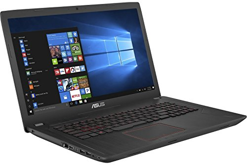 "ASUS Gaming Laptop, GTX 1050 Ti 4GB, Intel Core i7, 17.3"" Wideview FHD Display, 8GB DDR4, 1TB 7200RPM HDD, Backlit Keyboard, FX73VE (Laptop Mini Asus)"