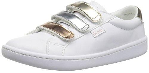 Keds baby-girls Ace 3V Sneaker, Triple Metallc, 10 M US Toddler