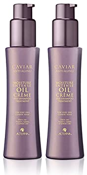 Caviar Anti-Aging Moisture Intense Oil Cr me Pre-Shampoo Treatment, 4.2-Ounce, 2-Count