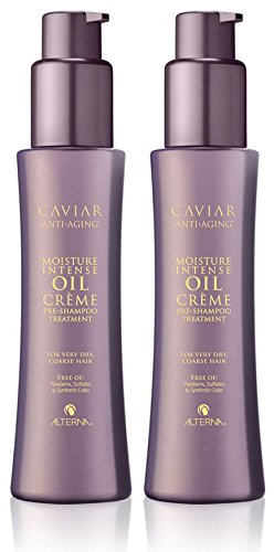 Caviar Anti-Aging Moisture Intense Oil Crème Pre-Shampoo Treatment, 4.2-Ounce, 2-Count