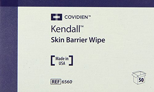 (Covidien Kendall Skin Barrier Wipes, Formerly Preppies, Large, 2-Ply 50-Count (Pack of 20))