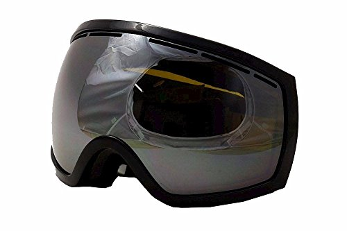 (Electric Visual EG2 Unisex Spherical Goggles, Gloss Black/Bronze/Silver Chrome, One Size)