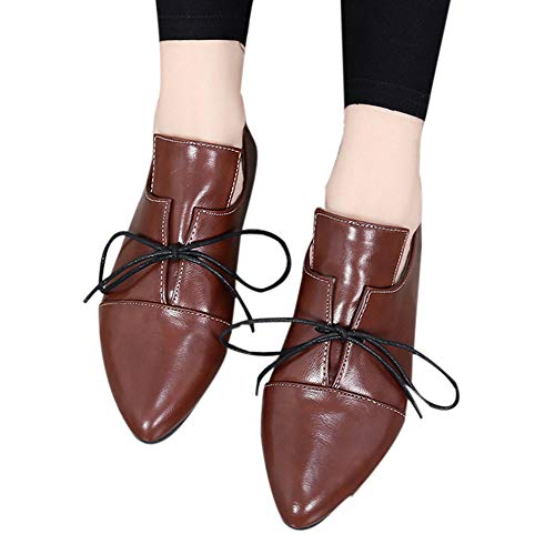 Chaussures Botte Saisons Cheville Unisexe Court Point Origine tage Marron Femme Femmes Bandage Quatre Alikeey Sexy Casual vwUCz77q