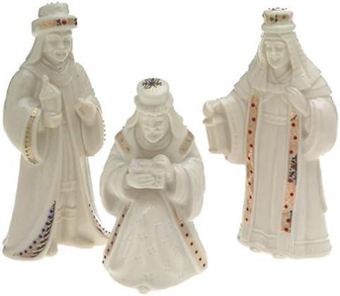 Lenox China Jewels Nativity Porcelain 3-Piece The Three Kings