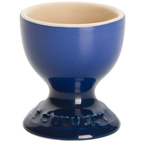 Marseille Cup - Le Creuset Marseille Blue Stoneware Egg Cup, Set of 4