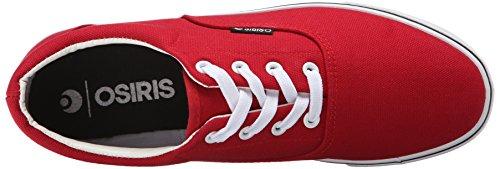 Osiris hombres SD de Skate zapatos Red/White