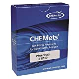 CHEMets Chlorine Test Kit Refill, Pkg. of 30