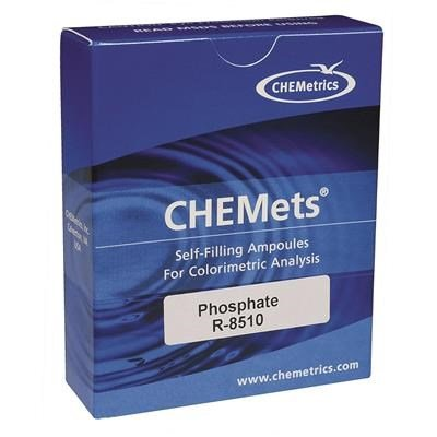 CHEMets Phosphate Test Kit Refill, Pkg. of 30 by TableTop King