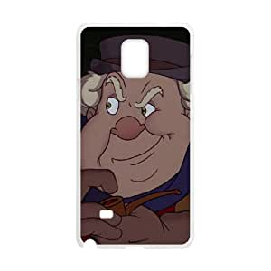 Samsung Galaxy Note 4 Cell Phone Case White Disney Pinocchio Character The Coachman Phone Case Cover For Guys Unique XPDSUNTR20353