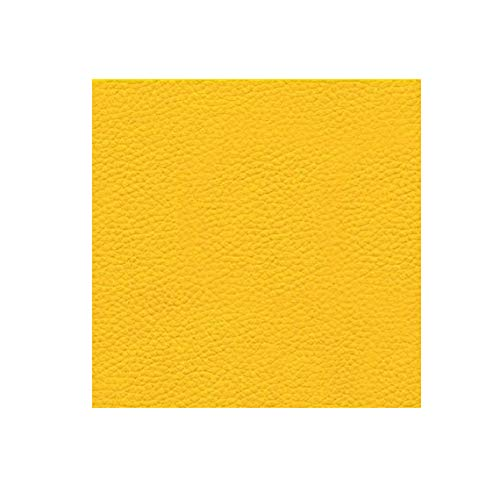 - Faux Leather Fabric Calf Yellow (1 yard)