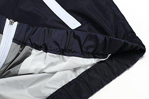 Veste Pluie Vintage Vent Hommes A De Imperméable gris À Léger Respirant À L'eau Finejo Capuche Hommes Veste Pour Coupe E1qcPH4v