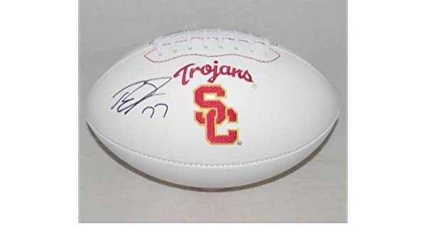191413217 Tyron Smith Signed Usc Trojans White Logo Football - JSA Certified at  Amazon's Sports Collectibles Store