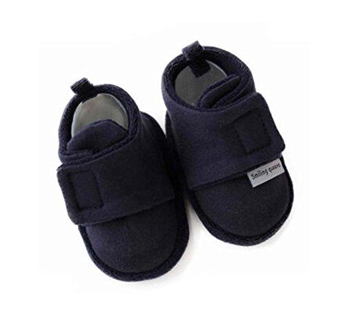 Set aus 2 Bequeme Neugeborene Schuhe Cotton Schuhe Baby-Kleinkind -weich Sohle Schuhe
