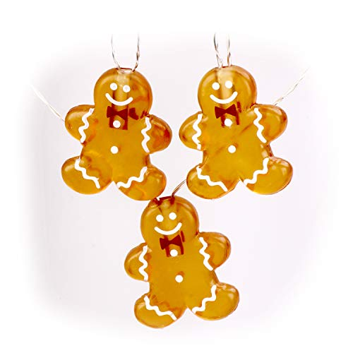 Gingerbread Christmas Lights Outdoor in US - 2