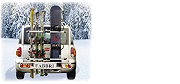 Porte ski sur attelage FABBRI EXCLUSIV SKI & BOARD DELUXE