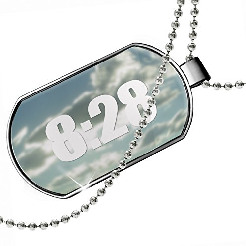 Dogtag Read the Bible Romans 8:28 Dog tags necklace – Neonblond