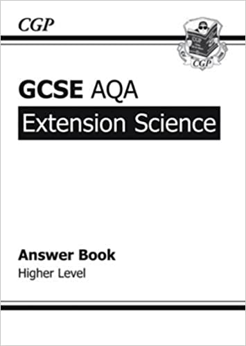 GCSE Extension Science AQA Answers (for Workbook)