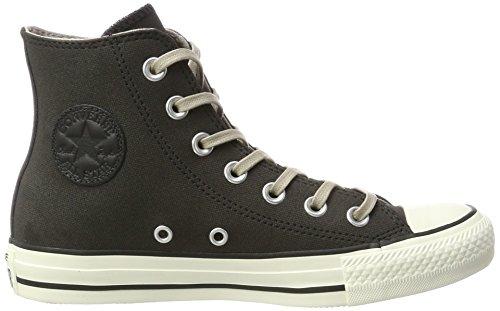 Converse Unisex-Erwachsene Chuck Taylor All Star Hohe Sneaker Schwarz (Black/Malted/Egret)