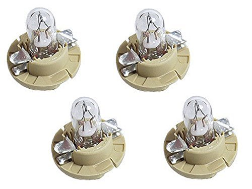 (BMW instrument cluster Bulb 1.5w Beige Socket Base (x4))