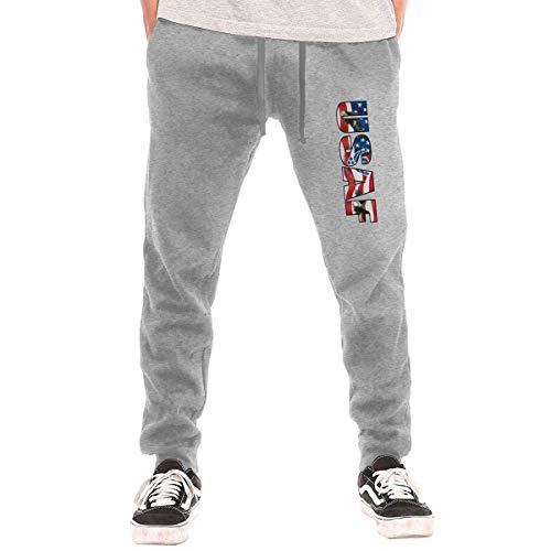 (United States Air Force American Flag Eagle Men's Sweatpants Mens Training Pants)