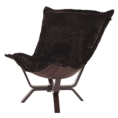 Howard Elliott 540-285 Milan Puff Chair, Mink Brown