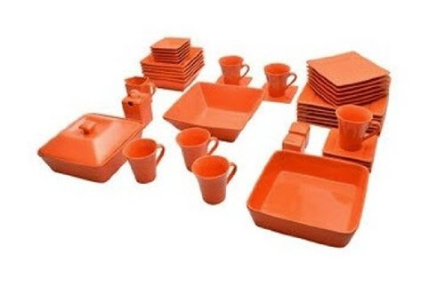 Nova 45 Piece Square Dish Set ()