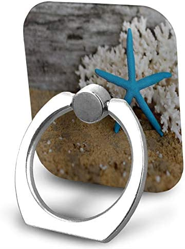NUCAKU Cell Phone Ring Holder 360 Degree Rotation and 180/°Flip Transparent Finger Ring Stand Holder Kickstand for Most of Smartphones Tablets 8 Pack