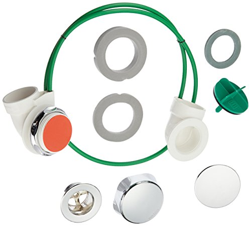 Watco 991-CA-PVC-CP Innovator Cable Half Kit, Chrome Plated (Bathtub Drain Half Kit)