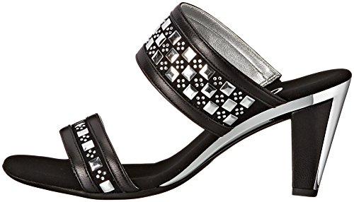 Onex Women's Chess Dress Sandal, Black, 10 M US by Onex (Image #5)