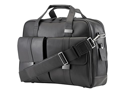 Leather Top Laptop Load (HP 1LG83AA Executive Top Load Notebook Carrying Case 15.6