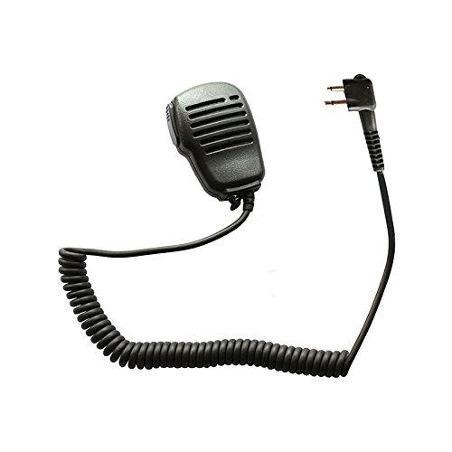 Marvogo Remote Handheld Speaker Microphone for Kenwood Two Way Radio 2 pin QUANSHENG Linton WOUXUN BaoFeng