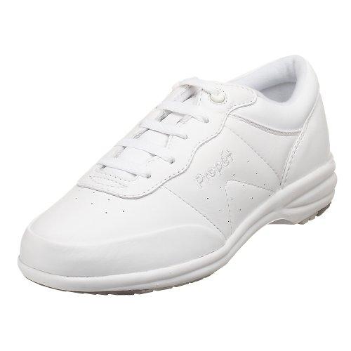 Propet Women's W3840 Washable Walker Sneaker,White,8 X (US Women's 8 EE)