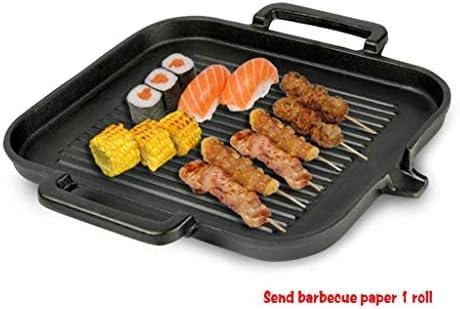 Cuisinière À Induction Ustensiles De Cuisson En Fonte Coréenne, Barbecue Vaisselle Ménages Non Couché Antiadhésif, Barbecue Teppanyaki Steak