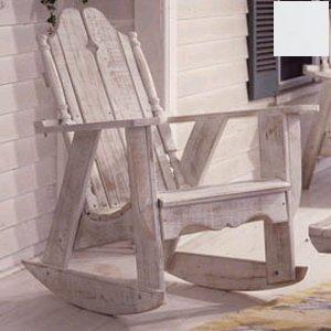 Uwharrie Chair N112 Nantucket Rocker - White