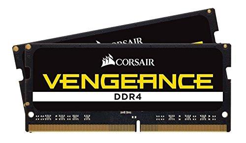 CORSAIR Vengeance SODIMM 32GB (2x16GB) DDR4 2400 C16 Laptop Memory Kit by Corsair