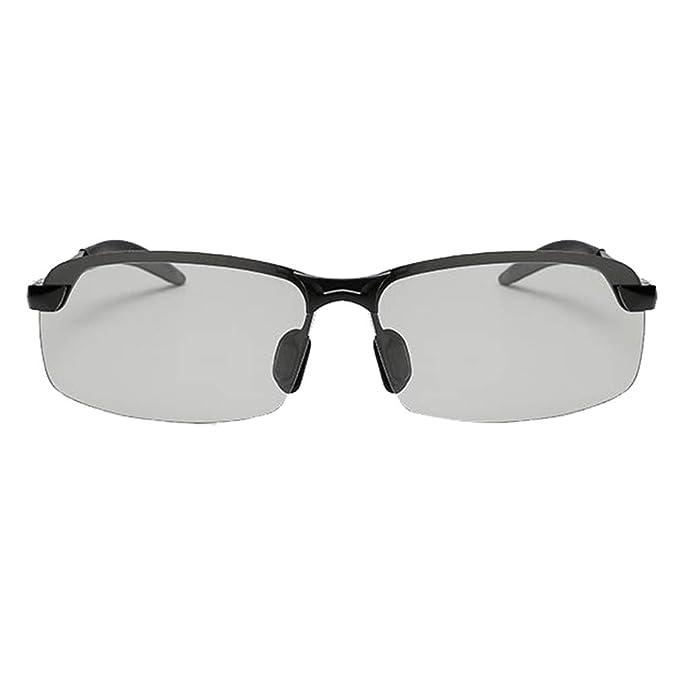 Zhongke Gafas de sol polarizadas de conducción UV400 Protección Fotocromática Lente Gafas para hombre para mujer